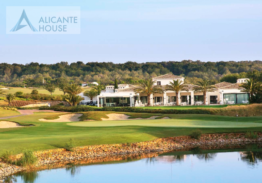 The territory of the golf club Las Colinas