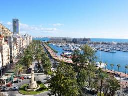 Quay in Alicante