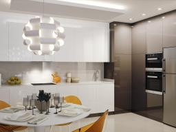 Kitchen with table top