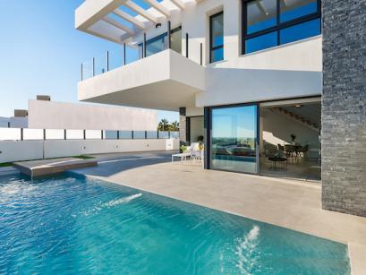 Modern Villa Skyline in Rojales